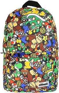 BP060446NTN, Nintendo Mochila con estampado de personajes Super Mario Unisex adulto, Multicolor, Standard