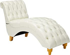 Christopher Knight Home Bellanca Fabric Tufted Chaise Lounge Chair (Ivory)