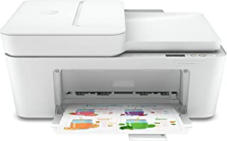 HP DeskJet Plus 4120 All-in-one Printer, Wireless, Print, Copy, Scan & Send mobile Fax - white