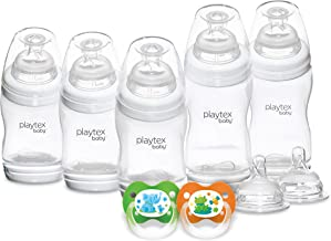 Playtex Baby VentAire Newborn Gift Set, Includes Anti-Colic Feeding Essentials to Meet Your Baby's Growing Needs