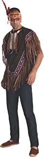 Costume Heroes And Hombres Men's Native American Costume Poncho