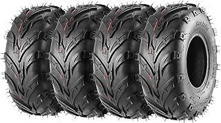 Pack of 4 Sport ATV Tires 145/70-6 145x70-6 Go-Kart, Mini Bike, ATV, Lawn Tires 145x70x6, 4PLY