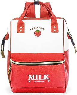 ZOMAKE Stylish Doctor Style Multipurpose School Travel Backpack for Men Women (Carmine)