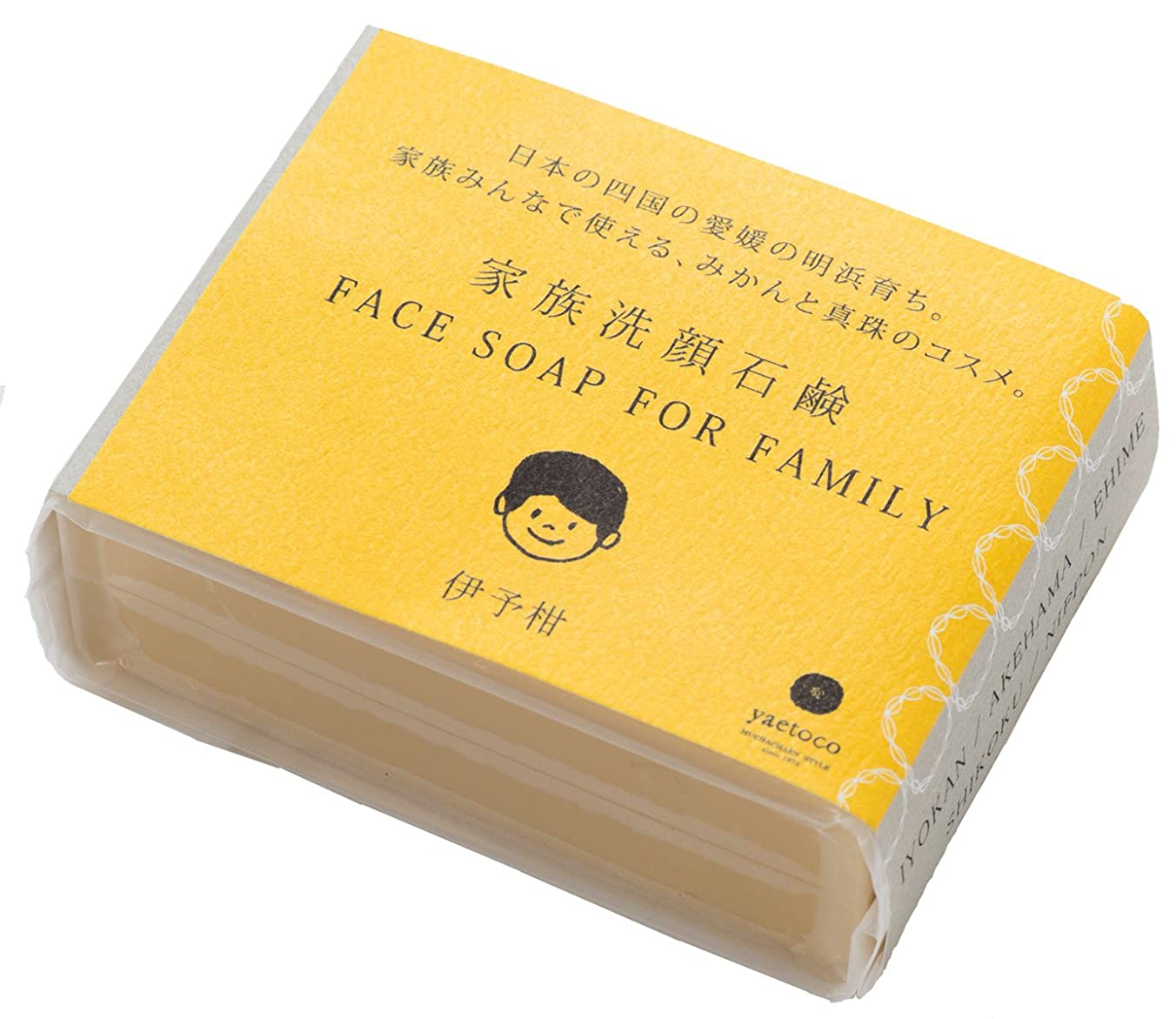 バナナレビュー関数yaetoco家族洗顔石鹸