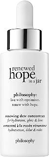 philosophy renewed hope in a jar renewing dew facial serum, 1 oz