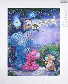 OrchidAmor Special Shaped Diamond Painting DIY 5D Partial Drill Cross Stitch Kits Crystal R