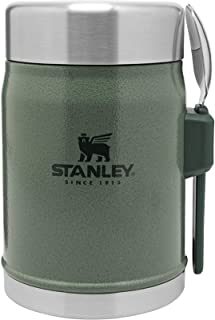 Stanley The Legendary Food Jar + Spork 14oz Hammertone Green