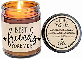 Best Friend Gift Best Friends Forever Soy Candle Besties Gift for Best Friend BFF Gift Scented Candle Gift Birthday Gift Miss You Gift