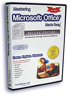 Mastering Microsoft Office Made Easy v. 2010, 2007, 2003 - Video Training Tutorials for Access, Excel, Outlook, PowerPoint, Publisher, Windows & Word