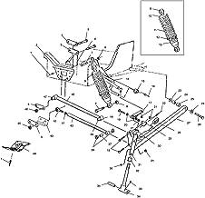 SM-08018 Front End Bushing Kit~1995 Polaris 600 XCR Snowmobile Sports Parts Inc