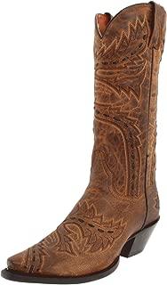 Dan Post Women's Sidewinder Western Boot,Tan,8.5 M US