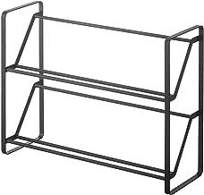 frame スリムシューズラック フレーム2段 黑