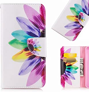 LEMORRY Sony Xperia XZ Premium Case Leather Flip Wallet Pouch Slim Fit Bumper Protection Magnetic Strap Stand Card Slot So...