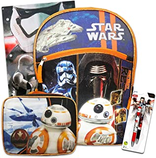 Star Wars Backpack, Lunch Box and School Supplies (Star Wars Back To School Set)