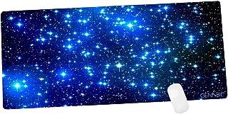 لوحة ماوس مطاطية مطاطية غير قابلة للانزلاق مقاس XXL من CENNBIE Galaxy إكسسوارات قواعد أجهزة الكمبيوتر 35. 4 × 15. 5 بوصات ...