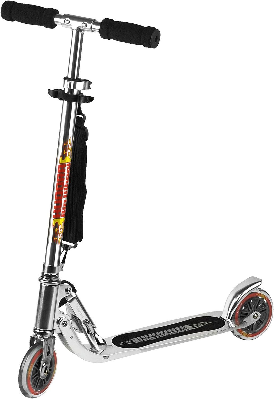 Hudora 14600 Big Wheel - Patinete, color plateado : Amazon.es ...
