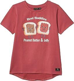 Peanut Butter & Jelly Short Sleeve T-Shirt (Toddler/Little Kids/Big Kids)