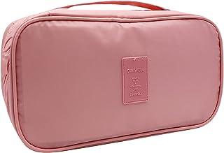 حقيبة تخزين داخلية محمولة للسفر حقيبة تخزين منظم للماء متعدد الطبقات أدوات الزينة التعبئة مكعب