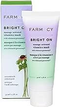 Farmacy Bright On Clay Face Mask - Vitamin C Antioxidant & AHA Rich Brightening Facial Treatment