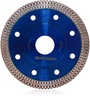 4 Inch Super Thin Diamond Tile Blade Porcelain Cutting Blade for Cutting Granite Marble Ceramics Porcelain tiles (4