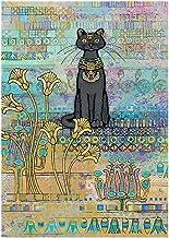 JLHBM Pets Collection Puzzles - Large 300/500/1000 Pieces Jigsaw Puzzle -Cat of Ancient Egypt - Unique Cut Interlocking Pieces Wooden Toy Home Decor (Size : 500pcs )