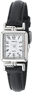 Timex Women's Carriage Catherine | Silver-Tone Case White Dial | Dress C2A901