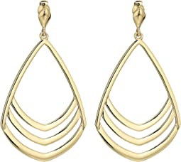 Vince Camuto Fan Drop Clip Earrings