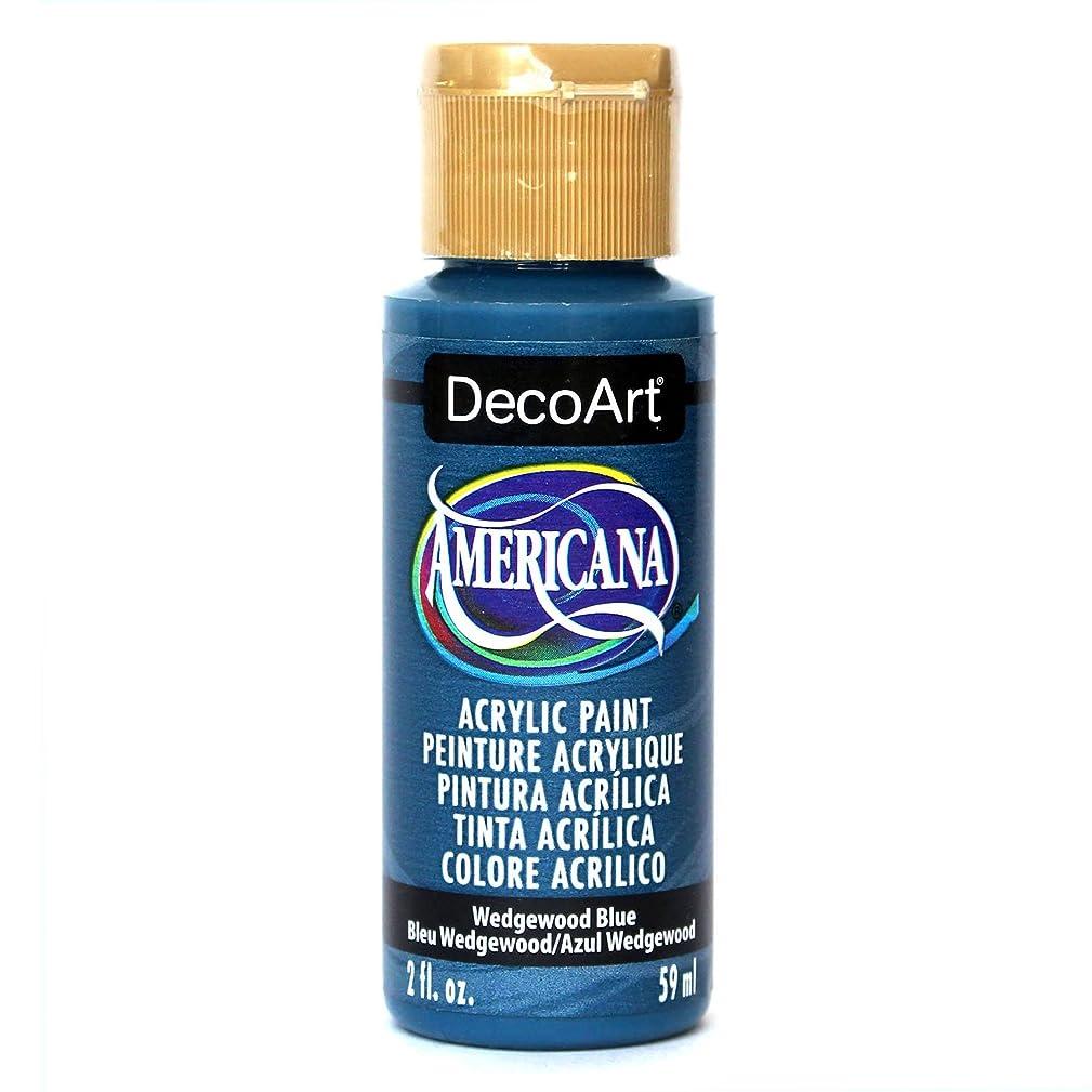 DecoArt Americana Acrylic Paint, 2-Ounce, Wedgewood Blue