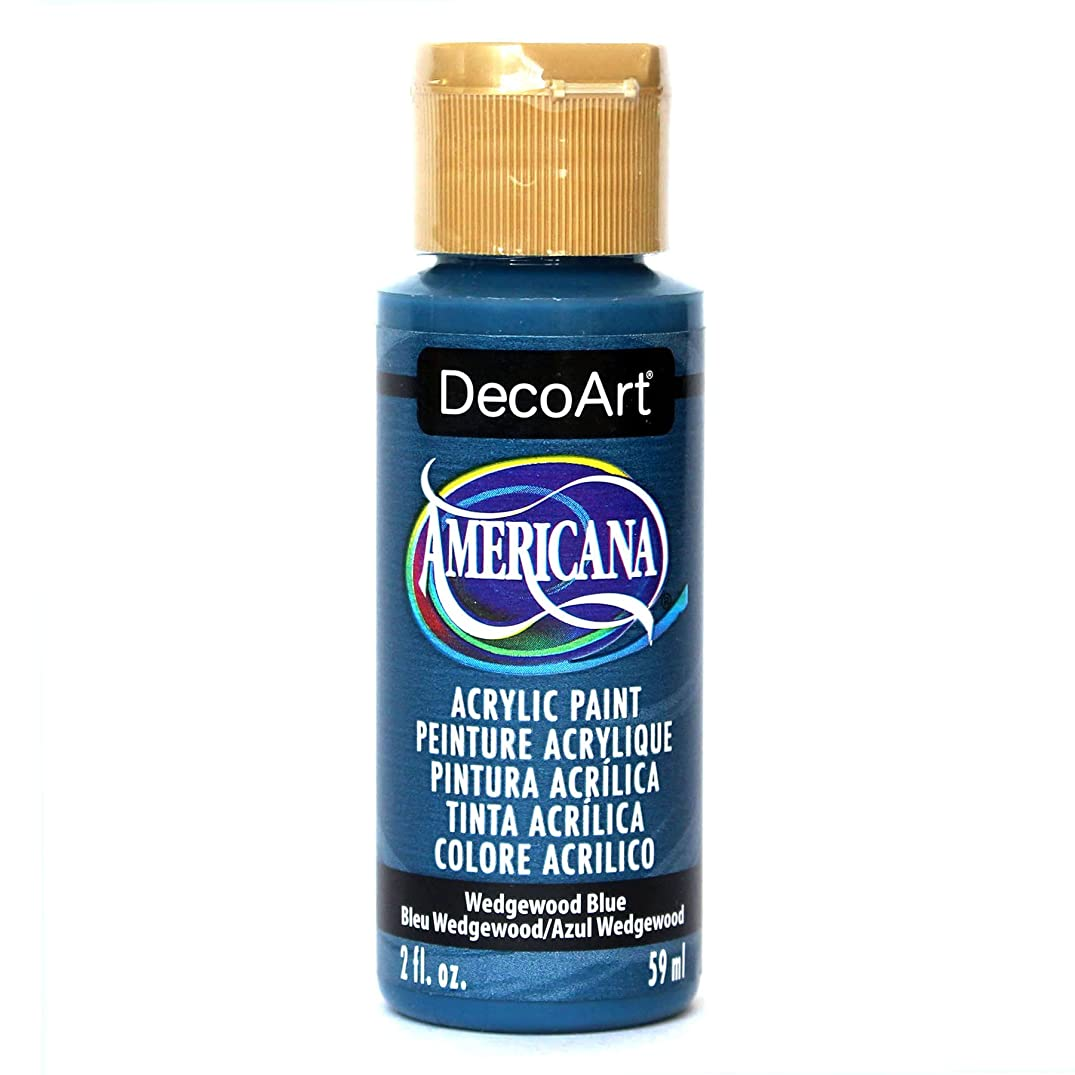 DecoArt Americana Acrylic Paint, 2-Ounce, Wedgewood Blue