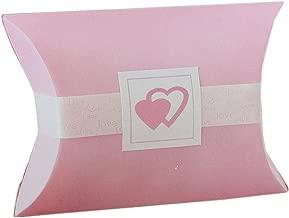 50 Ct Wilton Wedding Printable Pink Favor Kit Pillow Box