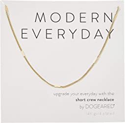 Modern Everyday, Short Crew Neck Necklace
