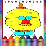 yellow Boby coloring book
