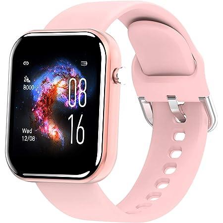 Smartwatch IP68 Wasserdicht mit Pulsuhr Full Touch Fitness Tracker Smart Armband