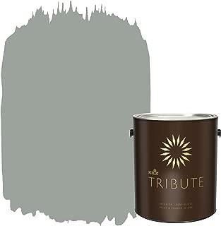KILZ TRIBUTE Interior Semi-Gloss Paint and Primer in One, 1 Gallon, Stone Cold (TB-66)