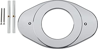 shower cover plate chrome