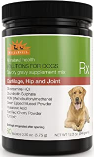 WellyTails Glucosamine Chondroitin MSM Turmeric Dog Joint Supplement