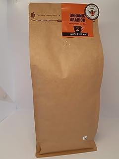 Zoom Coffee Organic Arabica 100% Premium Ethiopian 1kg Wholebean 3 Golden Bean Awards