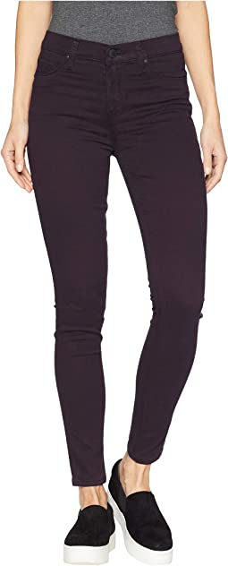 Nico Mid-Rise Ankle Skinny Jeans in Prism Purple