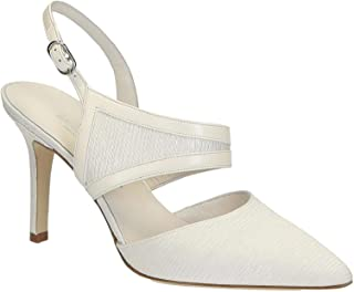 LEONARDO SHOES Luxury Fashion Womens S2712WHITE White Heels | Season Outlet