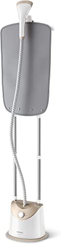 Philips EasyTouch Garment Stand Steamer with 5 Steam Settings, 1.4L Water Tank and Integrated Garment Hanger, 1800W, ...