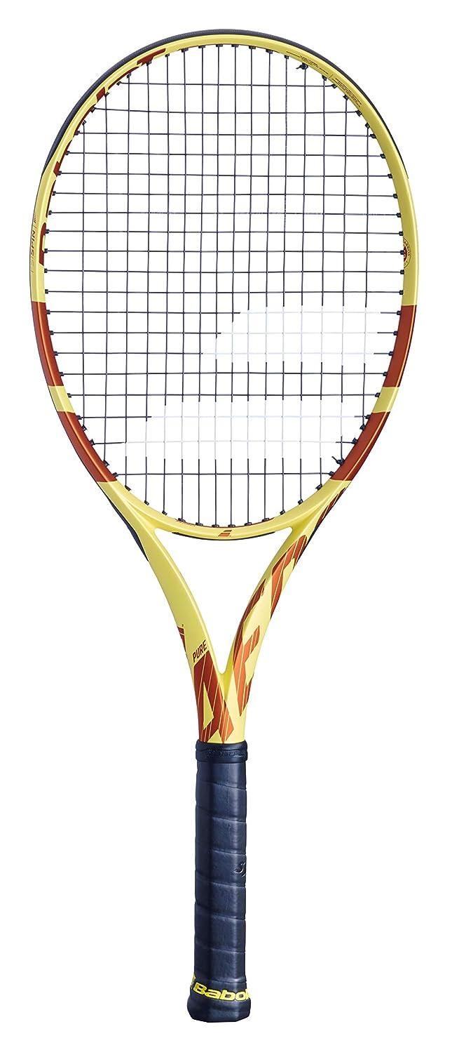 約未知のトラフバボラ(Babolat) 硬式テニス ラケット ピュア アエロ フレンチオープン 【フレームのみ】 イエロー×オレンジ グリップサイズ2 BF101392