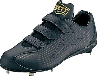 ゼット(ZETT) 野球 埋込みスパイク ウイニングロードMB ブラック/ブラック BSR2296MB