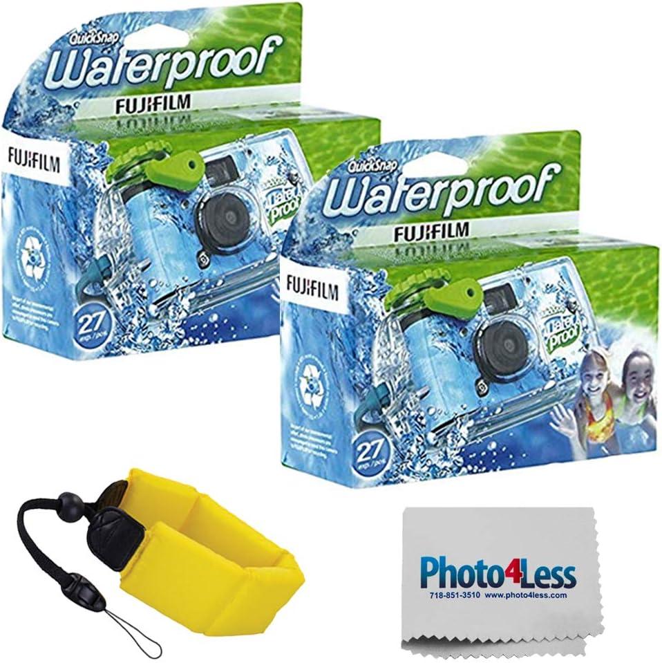 Fujifilm Quick unisex Snap Waterproof 35mm Single 2 Pack Use Camera Dealing full price reduction F