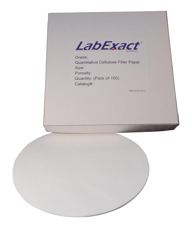 LabExact 1200267 Grade CFP44 Chicago Ranking TOP7 Mall Cellulose Filter Paper Quantitative