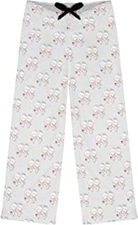 RNK Shops Wedding People Womens Pajama Pants - S (Personalized) Pink