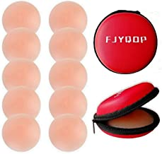 Silicone Nipple Covers - 2/4/5 Pairs, Women's Reusable Nippleless Pasties Breast Round Invisible