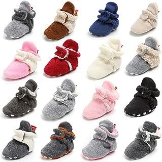 infant santa booties