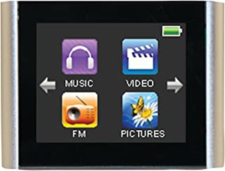 "Eclipse T180 1.8"" 4GB MP3 Clip Style Digital Audio LCD Video Player - Silver"