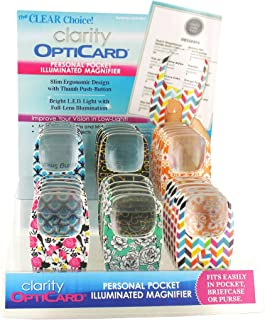 Clarity Opticard (Pack Of 36)