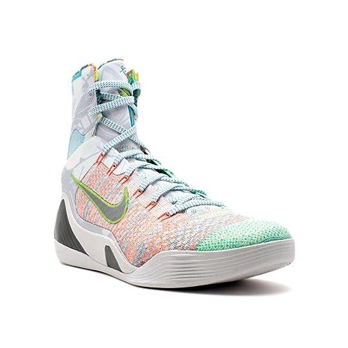 NIKE Men s Kobe 9 Elite What The Kobe Basketball Shoes ... 45ff59170c88
